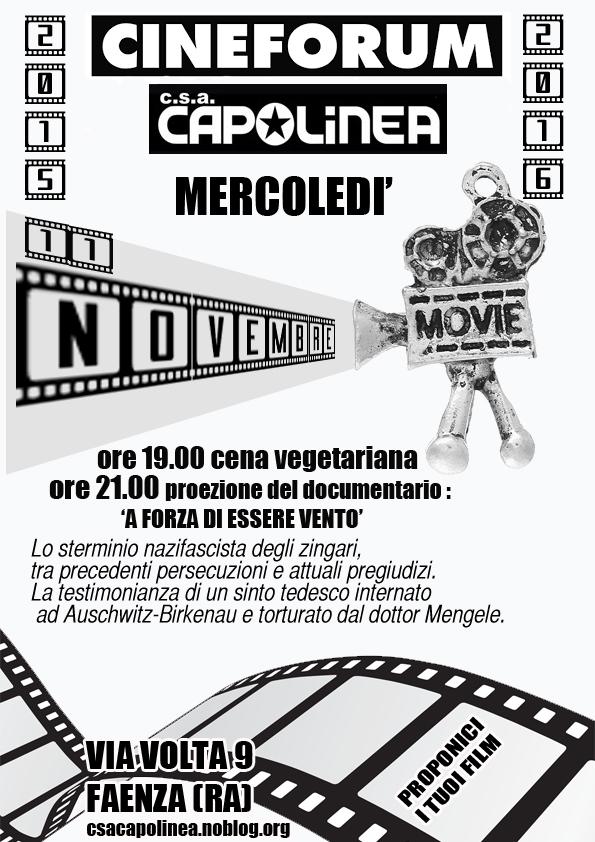 volantino cineforum
